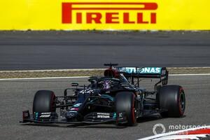 ステアリングがぐらぐら! ハミルトンの無線をメルセデス説明「安全上の懸念はなかった」|F1アイフェルGP