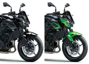 カワサキ「Z400」の2021年国内モデルが登場! 2020年モデルと比較してみよう【2021速報】