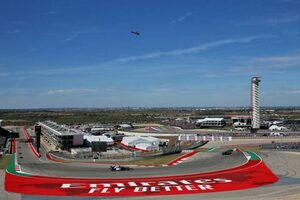 F1アメリカGP開催に向け、サーキット・オブ・ジ・アメリカズが路面のバンプに対処。改修作業を実施
