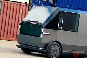 「もはやただの箱」 カクカク過ぎる新型バン「MPDV」 何でも積める積載量がヤバい!