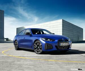 Mモデルも登場! BMWのフルEVに流麗なグランーペ「i4」が新たにラインナップ 【動画】