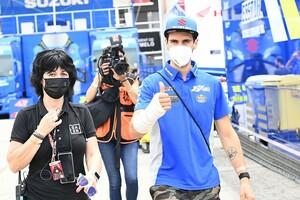 【MotoGP】スズキのアレックス・リンス、ドイツGPで復帰目指す。カタルニア戦直前の右腕骨折から2週間