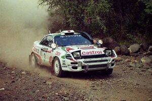 日本人初のサファリラリー優勝者、藤本吉郎が語るセリカGT-FOURでの挑戦/WRC