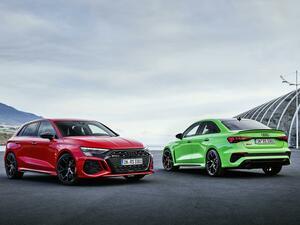 新型アウディ RS3 スポーツバック&セダンが世界初公開。トルクスプリッターを標準装備、セミスリックタイヤもOP設定