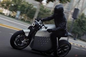 Davinci Tech「DC100」登場 無数の電子センサーを搭載した最新電動バイク