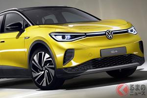 VW「ID.4」世界初公開! VWの電気自動車「ID.シリーズ」第2弾はSUV