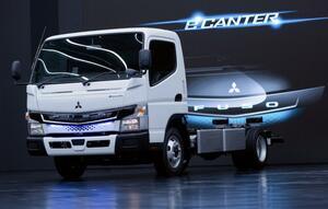 三菱ふそう:電気小型トラック「eCanter」を関西で初めて納車