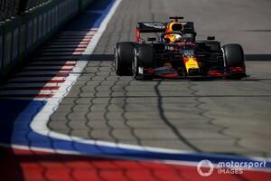 F1ロシアFP1速報:ボッタス首位。レッドブル・ホンダのフェルスタッペンは3番手発進