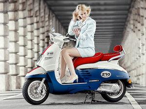 【プジョー】創業210周年記念モデル「ジャンゴ 125 ABS 210周年リミテッドエディション」を9/26に発売