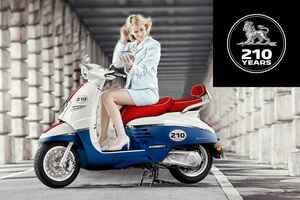 【21台限定!】プジョー創業210周年を記念した「ジャンゴ125 ABS 210thリミテッドエディション」が9月26日に発売!