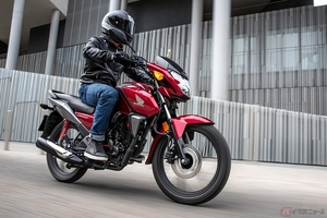 ホンダ「CB125F」2021年モデル登場 全面刷新で11kgの軽量化を実現