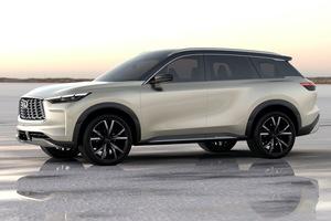インフィニティの次期「QX60」を示唆する3列シートSUVのデザイン公開!|量産モデルは2021年に発表|