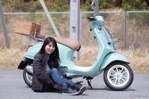 『小野木里奈の○○○○○日和』は、バイク女子も惹かれてしまうベスパでピクニックに出かけたい!
