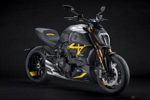 ドゥカティ「ディアベル1260Sブラック&スチール」 非対称のデザインを採用した最新モデル登場