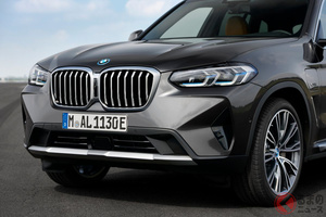 イケメン顔に変更!BMW改良新型「X3」「X4」欧州で登場 Mモデルも同時にマイナーチェンジ