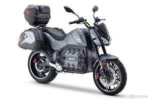 DAYI Motor「E-Odin」公開 原付二種クラスの最新電動バイクが登場