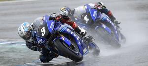 <全日本ロードレース> 雨中の決戦! 野左根5連勝達成!~加賀山が約6年ぶりの表彰台へ
