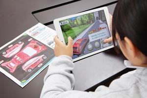 ロータス同友会、交通ルール学べるゲームアプリ「ロータスクラブぬりえでGO」開始 描いたクルマをARで立体化