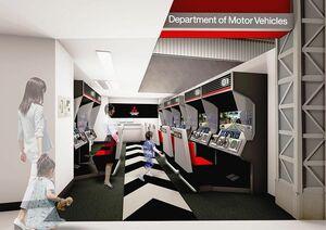 三菱自動車、キッザニア甲子園の「運転免許試験場」パビリオンをリニューアル 新ドライビングシミュレーター導入