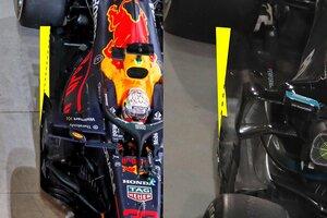 """各F1チームで解釈分かれる新規則のフロア。""""Z字型""""が2021年のトレンドになる?"""