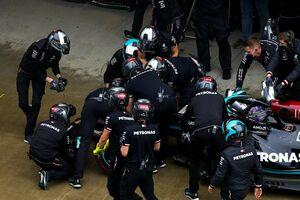 F1ロシアGP予選で2度のクラッシュ…4番手に終わったハミルトン「信じられないほど自分自身に失望した」