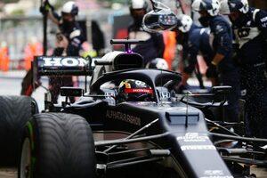 【角田裕毅F1第15戦密着】路面状況の改善により、Q2ではグリップに変化。自身で下したピットインの判断が奏功