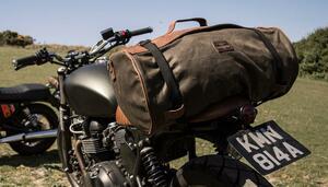 ベルギー発、こだわりが詰まったおしゃれバッグ|「ロングライド」のダッフルバッグは旅するバイクによく似合う!