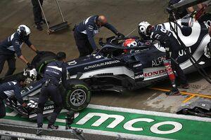 ガスリー、予選Q2敗退に悔しさ爆発!「タイヤを交換しなかったことで、大きな代償を払った……」