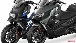 BMWの普通二輪スクーターが全面刷新! 「C400X」「C400GT」はASCに自動調整機能も