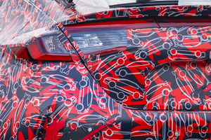 衝撃!? ホンダ新型「シビックタイプR」のカモフラージュ柄が可愛い! 遊び心あふれる柄の正体は?