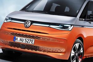 日本名ヴァナゴンが欧州で登場! VW新型「T7マルチバン」生産開始  価格は約565万円から