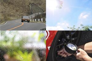 タイヤにも「気象病」は起こる! 温度・湿度・標高で空気圧はかなり変化していた