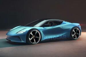 【エリーゼの電動後継車】ロータス・タイプ135 2026年登場予定 軽量2シーター・スポーツカー