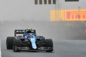 「あと数コーナーあったらポイントを失っていた」賭けに出たオコン、唯一タイヤ無交換で完走/F1第16戦