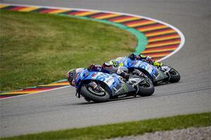 戦慄のドイツGP……マルク・マルケスを止められるのは『チーム・スズキ・エクスター』の2人だと信じよう!【100%スズキ贔屓のバイクレース㉑/MotoGP 2021】
