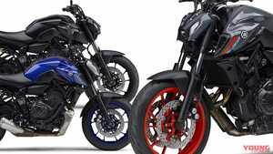 ヤマハ新型「MT-07」登場! MTシリーズ共通の顔に新排出ガス規制適合エンジン搭載