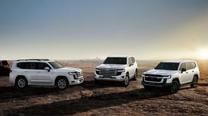 トヨタがTNGAに基く新しいGA-Fプラットフォームを採用した新型「ランドクルーザー」を公開