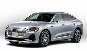 アウディが電気自動車の新型SUVクーペ「e-tronスポーツバック」を発売。車両価格は1327~1346万円に設定