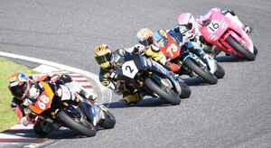 <全日本ロードレース> サスケ&サチカの連勝記録ストップ!~WebオートバイはJP250を応援します!~