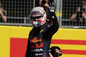 レッドブル・ホンダのフェルスタッペンがスタートで首位奪取。完勝でポール獲得【スプリント予選レポート/F1第10戦】