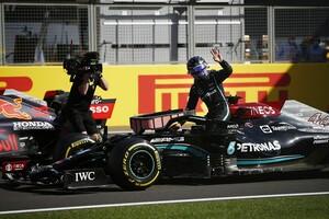 ハミルトン、初のスプリント予選レースで完敗。フェルスタッペンを倒すためにできることは「何もなかった」