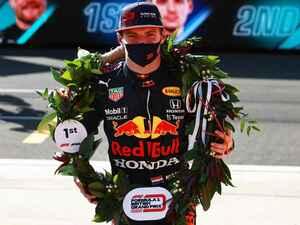 2021年F1第10戦、フェルスタッペンがF1史上初のスプリント予選を制して4戦連続ポールを獲得【イギリスGP】