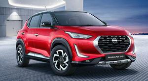 日本では発売せず! 日産新ロゴを採用した小型SUV「マグナイト」がインドで発表されたぞ