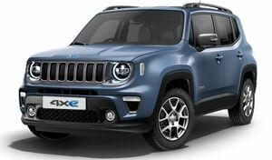 Jeepブランド初のプラグインハイブリッドモデル「レネゲード4xe」が発売。車両価格は498~503万円に設定