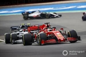 フェラーリ、ポルトガルGPでも空力アップデート実施。ディフューザー中心に改善