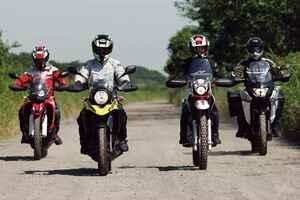 250ccアドベンチャーバイクのオフロード性能を比較インプレ! CRF250ラリー/Vストローム250/ツーリングセロー/ヴェルシスX250ツアラー(2020年)