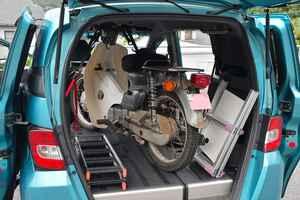 スーパーカブを車に積んで旅に出たいから、ベストなランプ(ラダーレール)を探すんだけど、その前にアイテム紹介と注意事項。カブを車載するのだ準備編〈若林浩志のスーパー・カブカブ・ダイアリーズ Vol.36〉