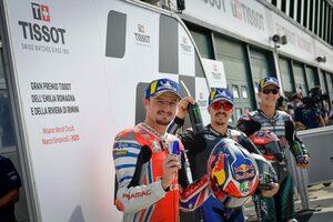 ポールシッターのビニャーレス「レースでは今年のベストパフォーマンスにしたい」/MotoGP第8戦予選トップ3会見