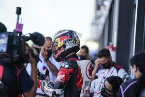 中上「正直がっかりしていますが、ケガがなかったのは幸い」/MotoGP第8戦予選