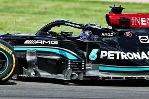 メルセデス、F1イギリスGPにアップデートを投入。サイドポッド周辺部を中心に最適化